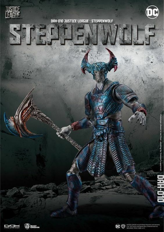 Beast Kingdom Justice League Dah 010 Steppenwolf Dynamic 8ction