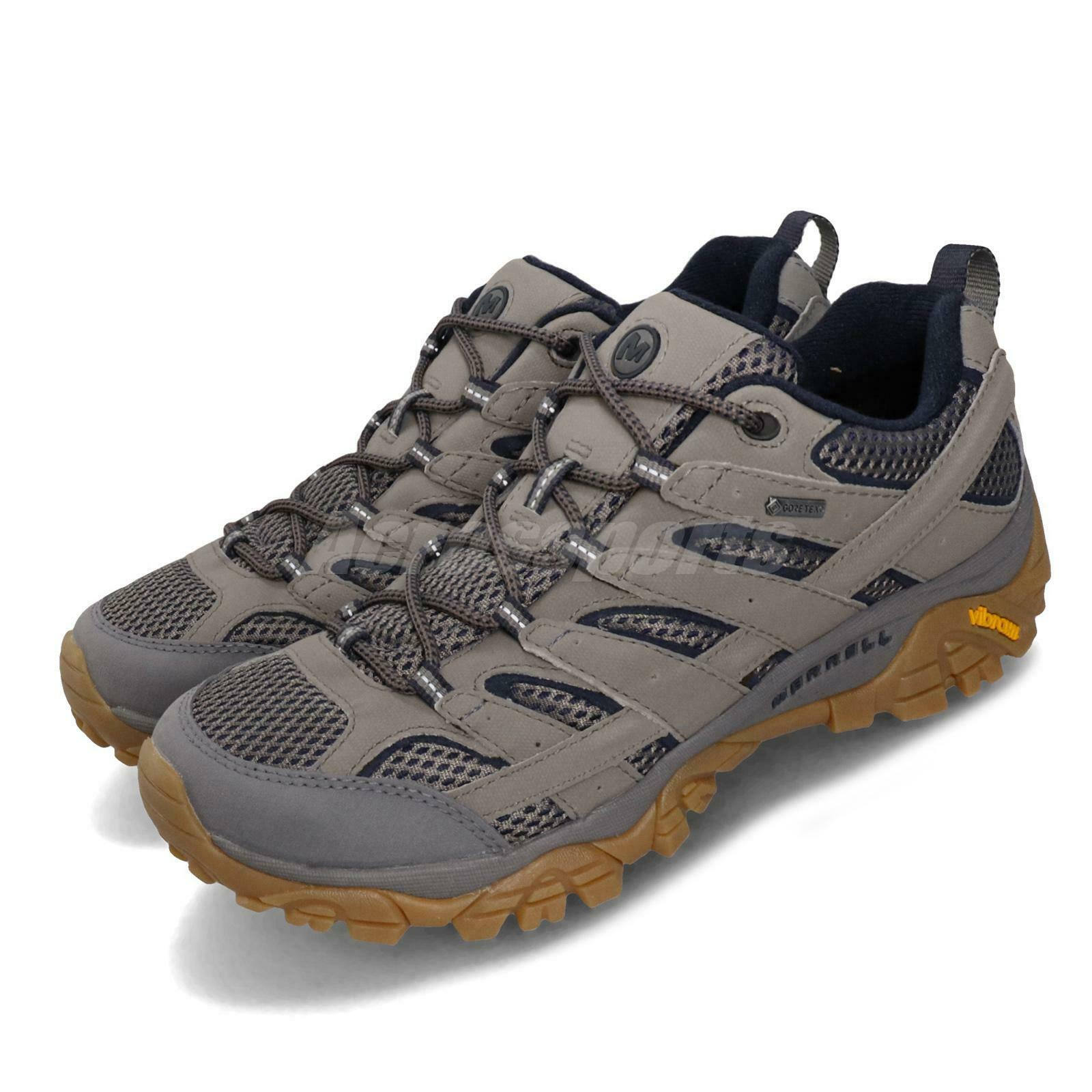 Merrell Moab  2 GTX Gore-Tex Charcoal Grey Gum Men Outdoors Hiking shoes J99765  check out the cheapest