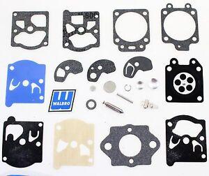 Carburetor Kit Intake /& Gasket fit Homelite 18cc trimmer WT220 WT-220 WT95  C11