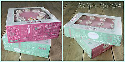 FunCakes Cake Box 2 Stück Kuchen Tortenkarton Geschenkverpackung Tragebox