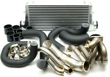 1320 Performance B Series T3 Dual Wg Top Mount Turbo Kit Intercooler Pipes 44mm
