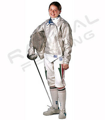 PBT Electric Foil Fencing Jacket Lame Stainless Steel MEN/'S Assorted Sizes NEW