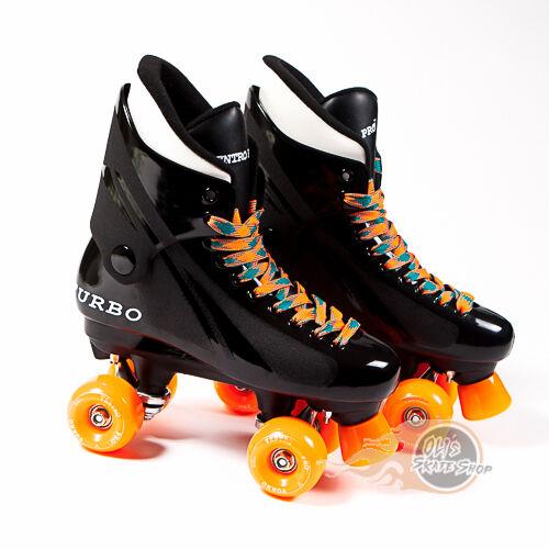 Bauer Style Orange Ventro Wheels Ventro Pro Turbo Quad Roller Skates