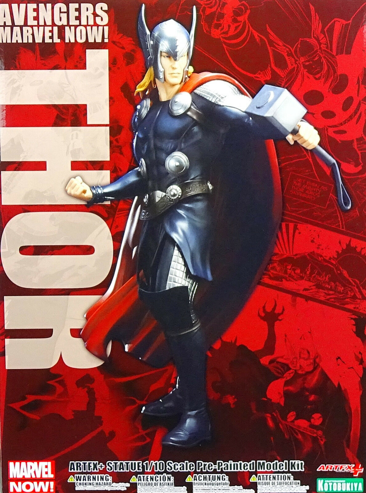 MARVEL NOW AVENGERS THOR ARTFX+ STATUE 1:10 SCALE PRE-PAINTED MODEL KOTOBUKIYA