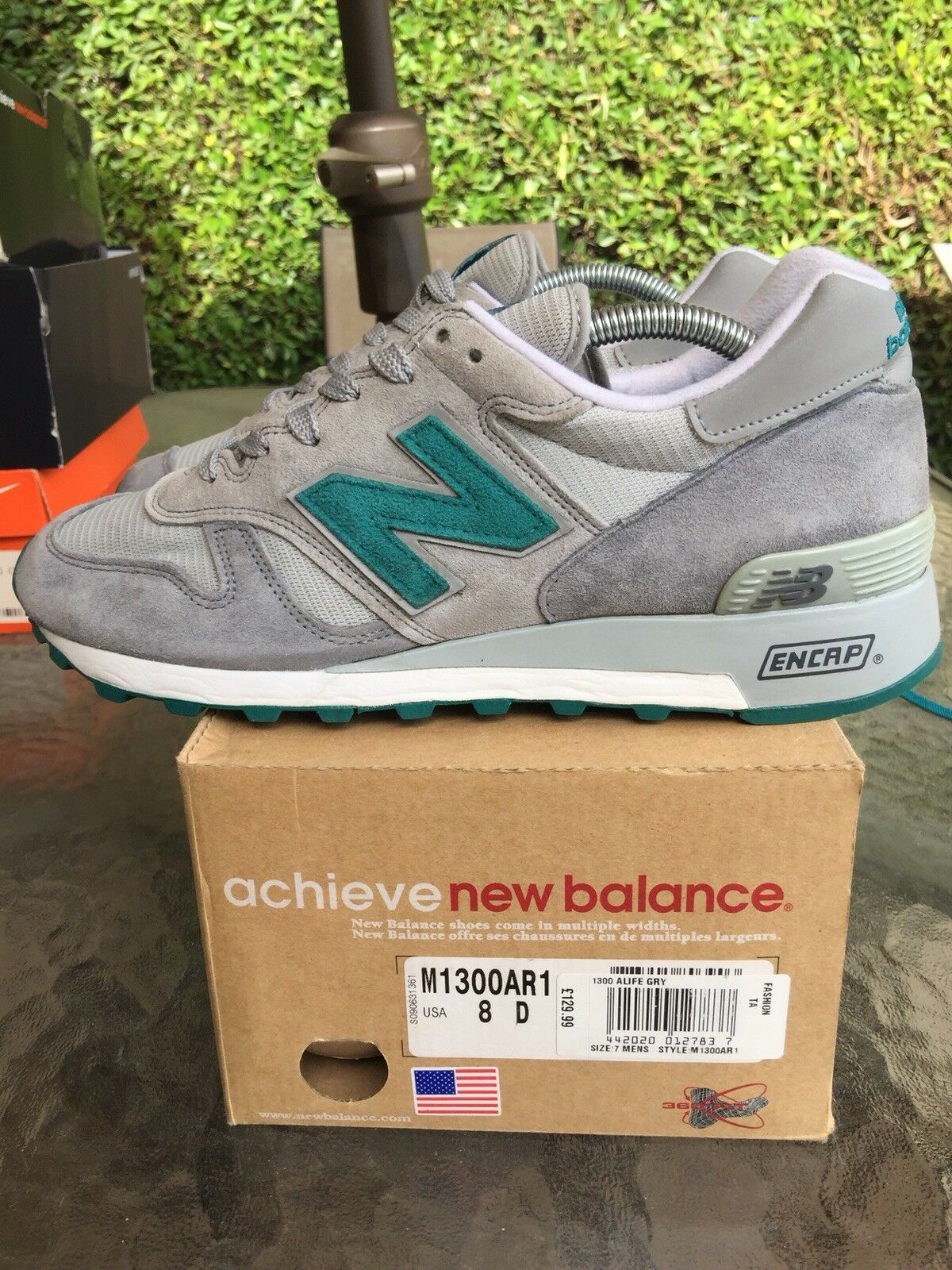 New Balance 1300 X ARC Sz 8 US Alife Rivington Club Vnds Teal AR1