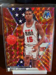 2019-20 Mosaic Basketball Team USA ** You Pick ** Base/Orange $12+ Free Shipping