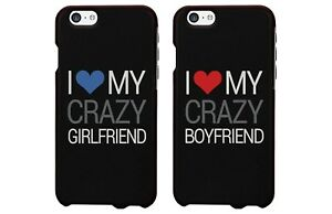 hot sale online 60b26 40d20 Details about The New Iphone 6 Case Cover - I Love My Crazy BF / GF  Matching Couple Phone Case
