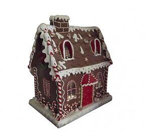 Gisela-Graham-XL-Light-Up-Pan-Di-Zenzero-House-Grande-Decorazione-di-Natale