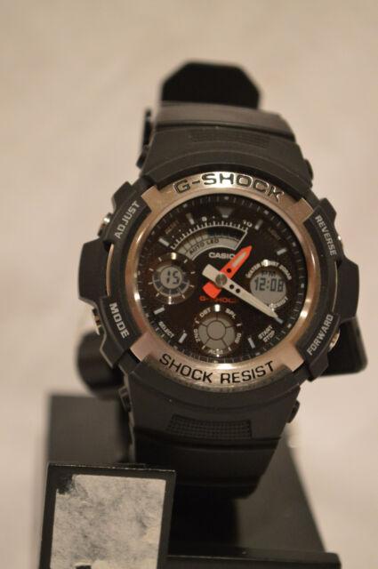 97d2e774ccec Casio G-shock Aw-590-1a Analog Digital Chronograph Sport Watch Aw590 ...