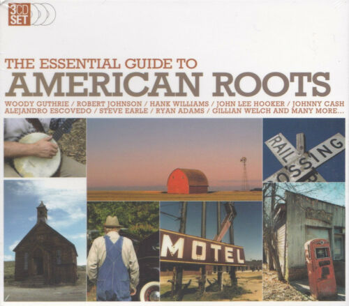 1 of 1 - [NEW] 3CD: THE ESSENTIAL GUIDE TO AMERICAN ROOTS