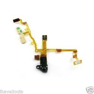 Headphone-Audio-Jack-Flex-Ribbon-Cable-Replacement-Repair-Part-iPhone-3GS-Black