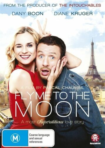 1 of 1 - Fly Me To The Moon (DVD, 2014)--REGION 4-Brand new sealed - Free postage