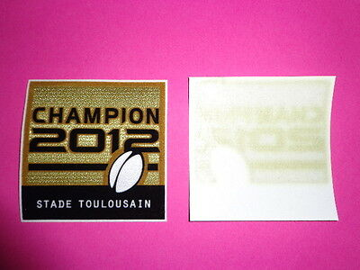 Patch Senscilia Top 14 Rugby Champion Toulouse 2012