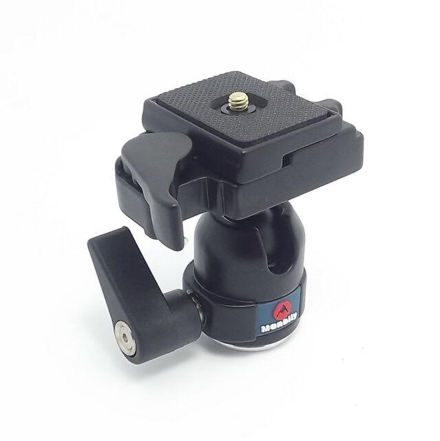 360 Rotate  Camera Camcorder Tripod Monopod Ball Head Quick Release Plate