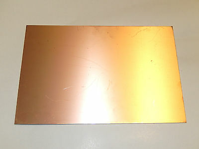 Fiber glass PCB Board,Copper Clad Circuit Board Single Side 300x200x0.5mm.