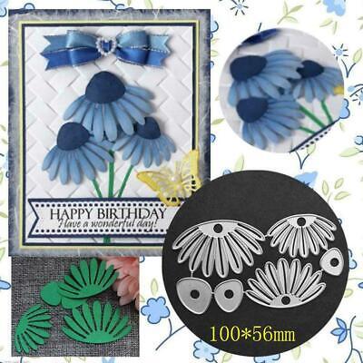 Flower Petals Metal Cutting Dies Stencils DIY Scrapbooking Embossing Card Album