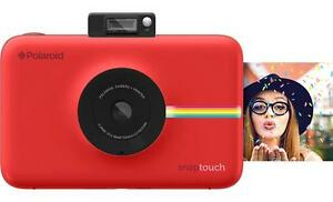 POLAROID-SNAP-TOUCH-ROSSA-ISTANTANEA-LCD-ZINK-2X3-034-NUOVA-POLYPHOTO