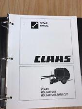 claas round baler rollant rapid 56 operators manual ebay rh ebay com Claas Baler 380 Claas Torion