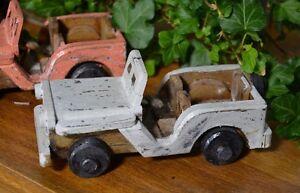 Auto Holzdeko Holzauto Antik Holz Shabby Vintage Deko Antik Massivholz Country