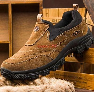 Mens casual outdoor hiking loafers