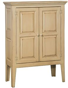 Amish Primitive Shaker Pie Safe Pantry Farmhouse Cottage Cabinet Wood Doors