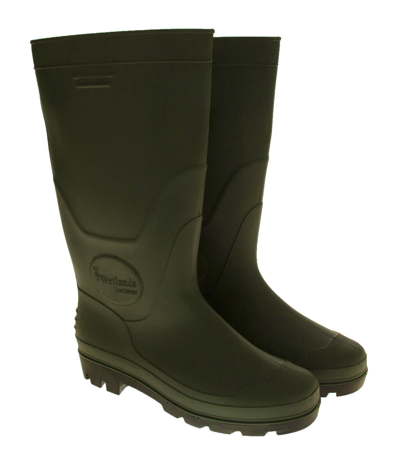 WOMANS WELLINGTON BOOTS GREEN GARDENER BY WETLANDS WELLIES