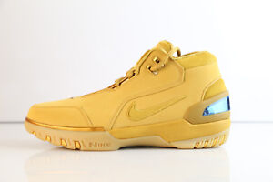 outlet store 614e7 756e4 Image is loading Nike-LBJ-Air-Zoom-Generation-ASG-QS-Wheat-
