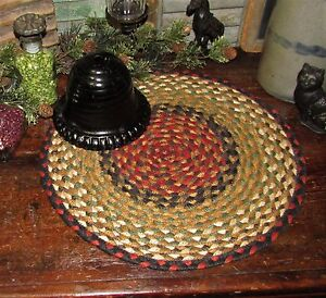 Primitive-100-Natural-Braided-Jute-Swatch-15-034-Trivet-Placemat-ROUND-MAT-19