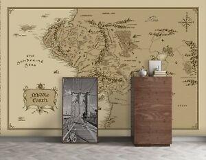 Mapa-de-estudio-3D-Amarillo-R467-Wallpaper-Mural-Autoadhesivo-comercio-Amy