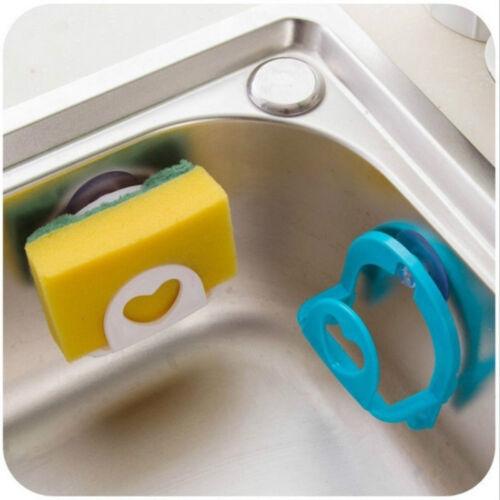 Titular de la esponja de aspiración de fregadero jabón de baño toalla de racks Almacenamiento Rack Cocina Nuevo
