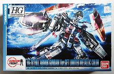 BANDAI Gundam Thunderbolt HG 1/144 FA-78 Full Armor Gundam GFT Metallic model