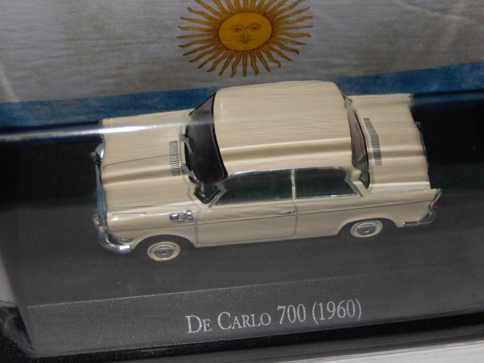 1960 De Carlo 700   BMW BMW BMW Microcar Diecast Car  New Sealed 1 43 USA Seller b60a81