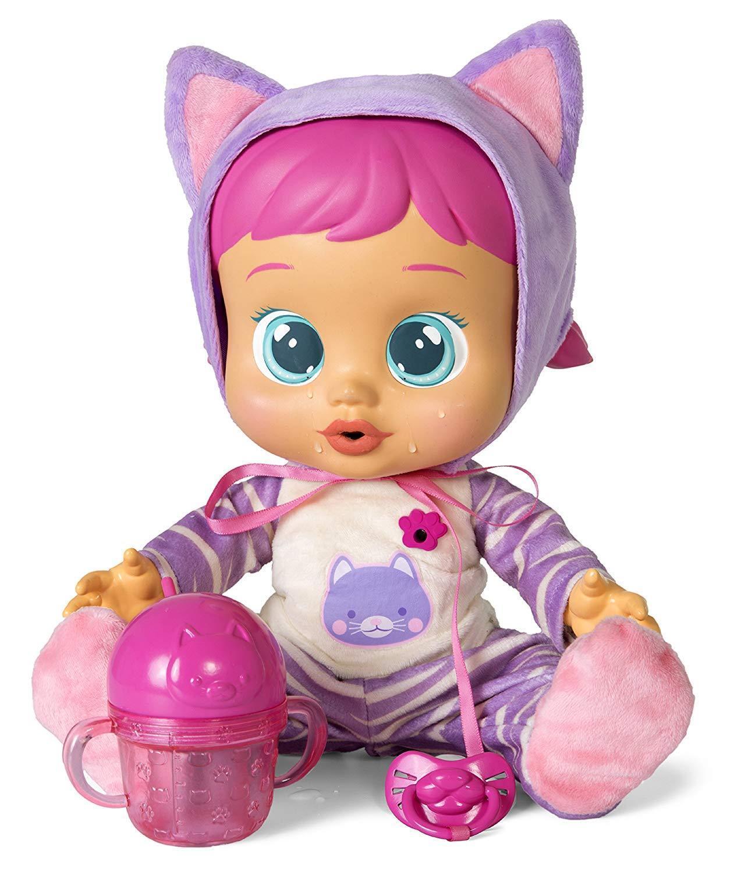 IMC Toys Bebe lloron - Katie Llora con sonidos y lágrimas de verdad y Bebe agua