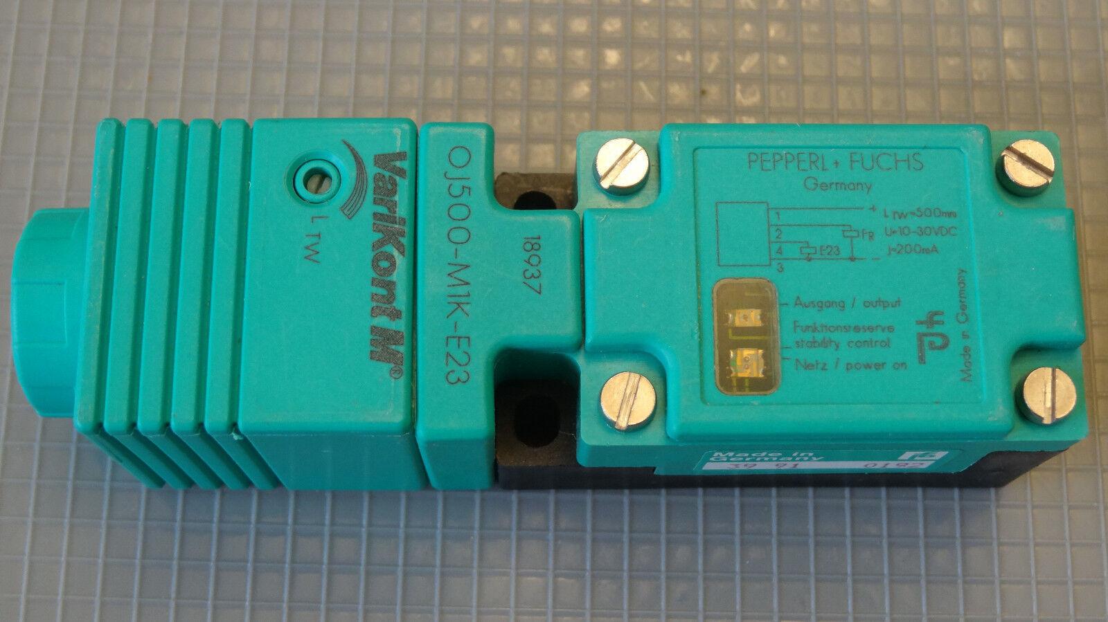 Pepperl+Fuchs (12) Lichtleitersensor  OJ500-M1K-E23  18937