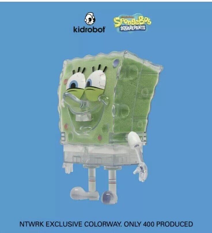 Spongebob Squarepants x Kidrobot Ntwrk Exclusivo-Limitada a 400 pedido confirmado