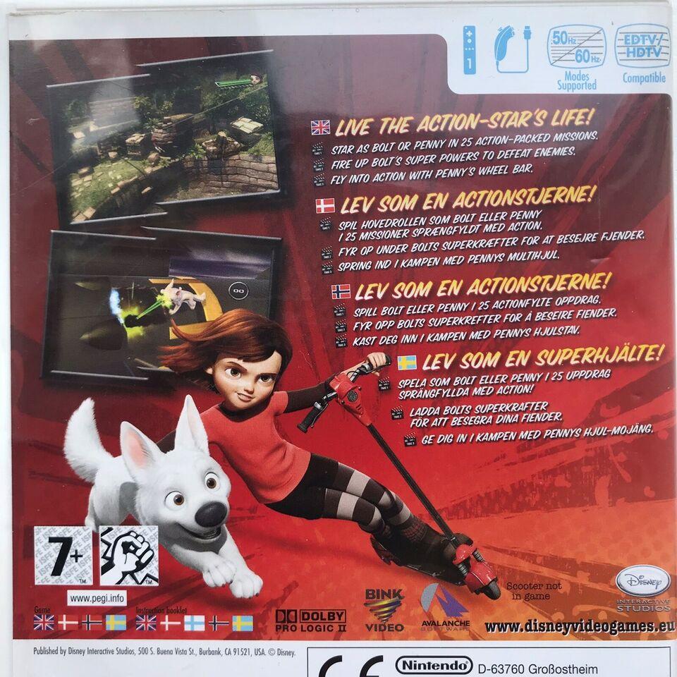 BOLT, Nintendo Wii, action