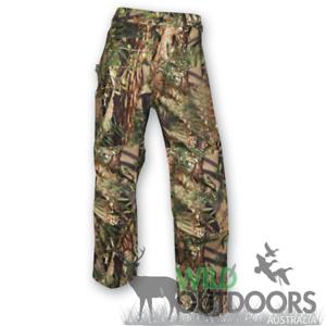 Alambre dorsal pantalón impermeable rcprc wapiti camuflaje - 4xl