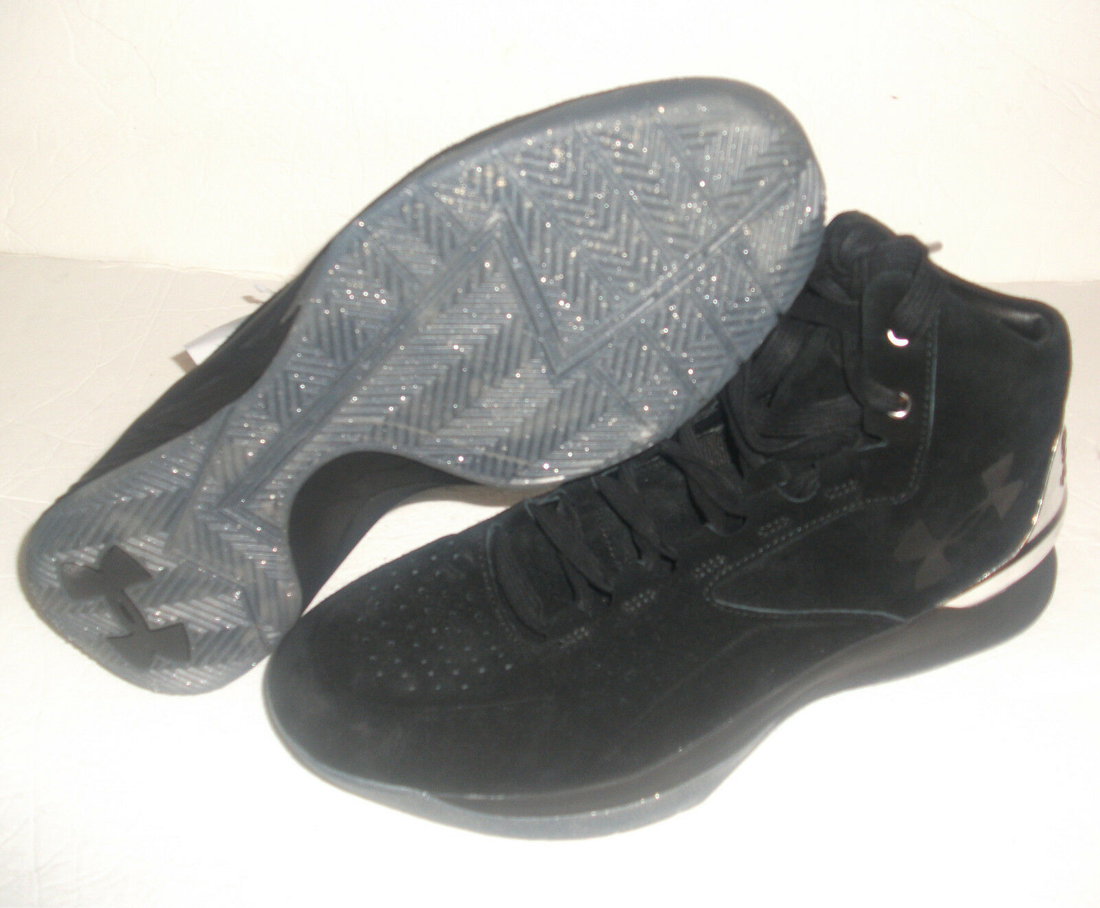 New under negro, armour 1 lux MID SUEDE, multi tamaño, negro, under 1296617-001 Steph curry a84bf8