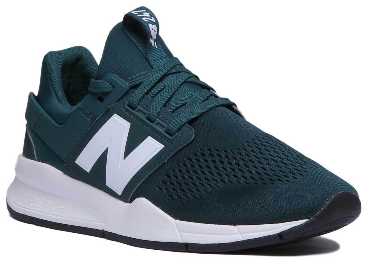 NEW Balance MS247EC uomo in tessuto mesh verde scarpe scarpe scarpe da ginnastica 82290e