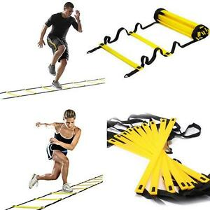 4f68d3055 Image is loading 7-13-Rung-Agility-Ladder-Adjustable-Speed-Training-