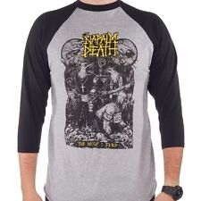 Napalm Death - Wolf I Feed - Baseball Shirt - 5.17