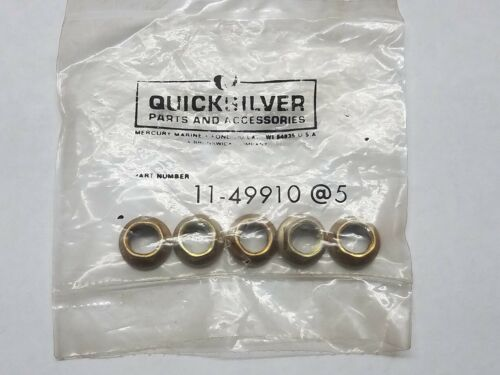 NEW QUICKSILVER MARINE BOAT NUT PACK OF 5 PART NO 11-49910
