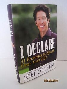 I Declare: 31 Promises to Speak over Your Life by Joel