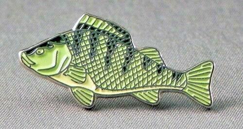Perche poisson d/'eau douce grossier Pêche Pêche à la ligne pêcheur Big Rig pin badge Entièrement neuf sous emballage