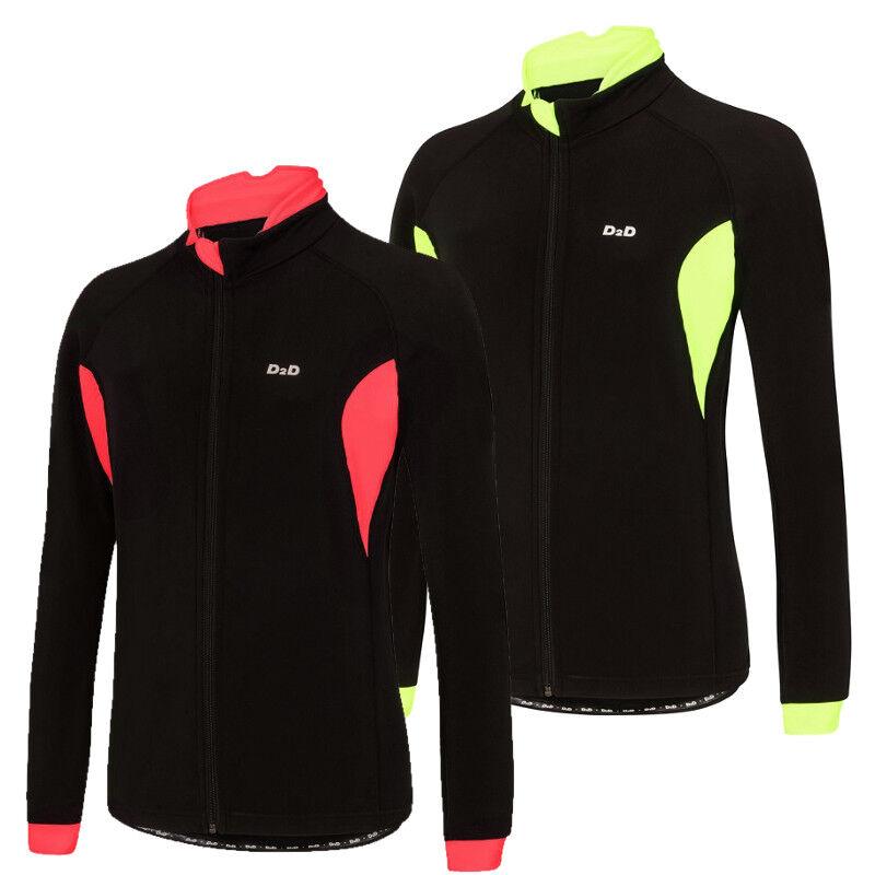 D2D Ladies 4Season Roubaix Long Sleeve Cycling Jersey  'D2D+' Plus Sized Version