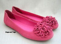 Clarks Erica Womens Pink Suede Shoes Pumps Size 4 / 37