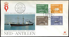 Netherlands Antilles 1967 Royal Navy FDC First Day Cover #C26598