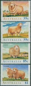 Australia-1989-SG1195-1198-Sheep-set-MNH