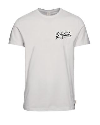 Jack & JONES Originals Camiseta Informal LOGO PECHO Camiseta Hombre jorhowdy