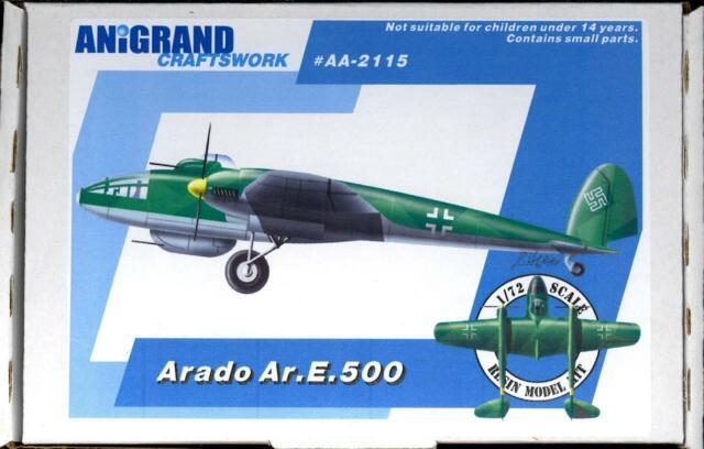 Anigrand 1/72 ARADO Ar.E.500 German Fighter Bomber Project